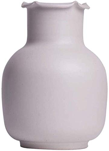 cvhtroe Jarrón mesa de centro práctico moderno simple creativo decoración del hogar arreglo de flores procesamiento multiproceso colecciones cerámica cerámica accesorios para el hogar decoraciones
