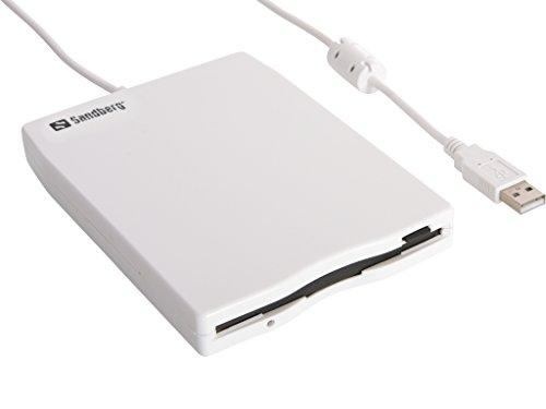 Sandberg 133-50 USB Floppy Mini Reader weiß