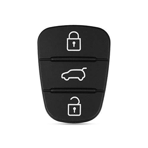 MOBFIDOFG Cubierta de Llave de Coche para Hyundai Avante I30 IX35 KIA K2 K5 Sorento SPORTAGE 3 BOTONS Flip Cubierta DE Cubierta DE Cubierta DE CUCHO Remoto PROTOPLADO (Number of Buttons : 4 Buttons)