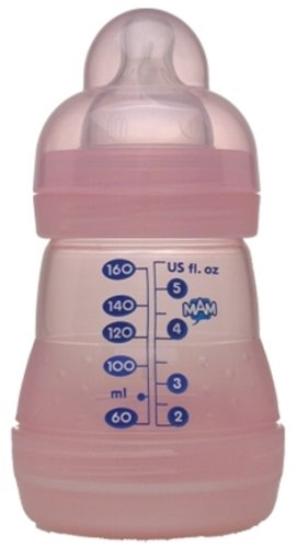 Mam - Mam 160Ml Bouteille Ultivent Single Pack Rose [Baby Product] - Référence : Fr-Ozfn-L4Ce