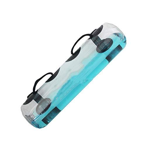 Bolsa de agua para fitness, levantamiento de pesas, bolsa de agua sin agua, bolsa de agua de peso ajustable con asas, mancuerna de levantamiento de pesas para entrenamiento en el hogar, fitness, yoga