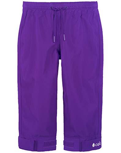 Oakiwear OAKI Children's Trail and Rain Pants, Galaxy Purple 12/13