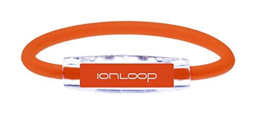 IonLoop Magnet + Negative Ion Bracelets (Orange, Medium)
