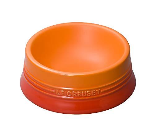 ル・クルーゼ(Le Creuset) ペットボウル ペットボール(M) オレンジ 防汚 電子レンジ 対応 【日本正規販売品】