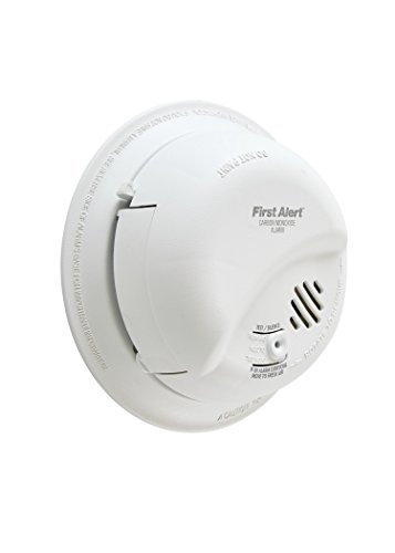 FIRST ALERT BRK CO5120BN Hardwired Carbon Monoxide (CO) Detector with Battery Backup
