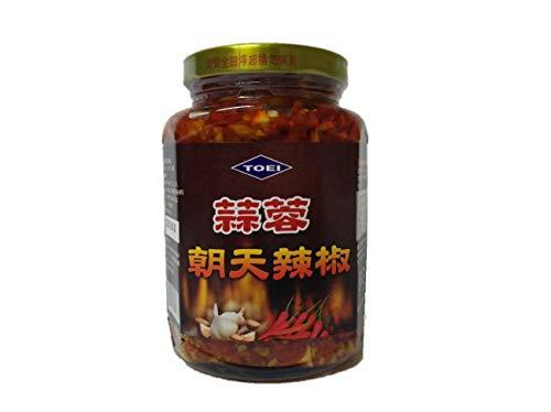 朝天蒜蓉辣椒(にんにく入り激辛調味料)ご飯がすすむ中華食材調味料・中華料理人気商品380g 凍商品との同梱はできませんのでご注意ください。