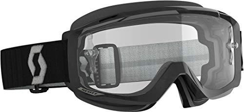Scott Split OTG MX Goggle Cross/MTB Brille schwarz/grau/klar Works