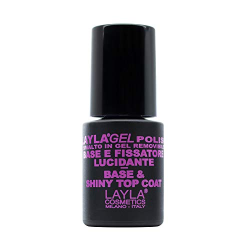LAYLA GEL POLISH - BASE & TOP COAT - base e fissatore per smalto semipermanente