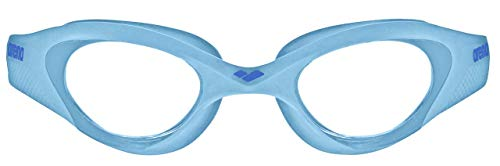 ARENA Kinder Schwimmbrille The One Junior, Clear-Cyan-Blue, Size
