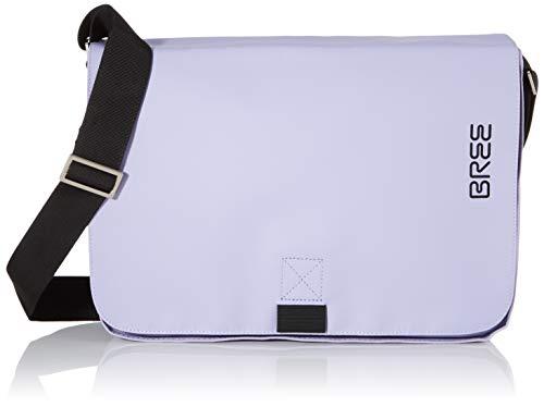BREE Unisex-Erwachsene PNCH 62 Shoulder Bag Umhängetasche, Violett (Lavender), 8x24x34 cm
