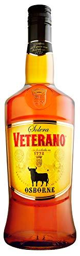 Osborne Veterano 30% vol. – Hochwertige Spirituose aus Spanien hergestellt nach dem Solera-Verfahren (1 x 1,0l)