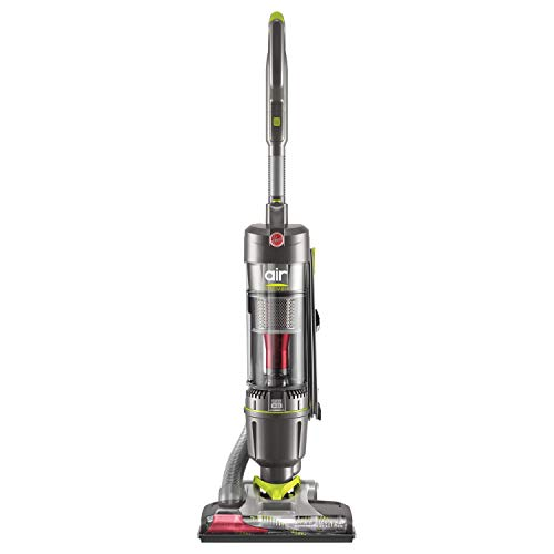 Hoover WindTunnel Air Steerable Pet Bagless Upright Vacuum Cleaner, with HEPA Media Filtration, UH72405, Grey
