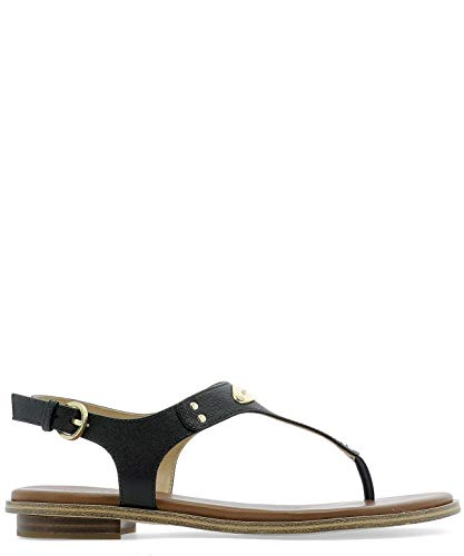 Luxury Fashion | Michael Kors Dames 40U2MKFA2L001 Zwart Leer Sandalen | Seizoen Permanent