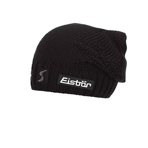 Eisbär Damen Eli OS Crystal MÜ SP Mütze, schwarz