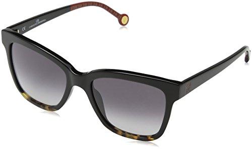 Carolina Herrera SHE744530700 Gafas, SHINY BLACK, 53/18/135 para Mujer