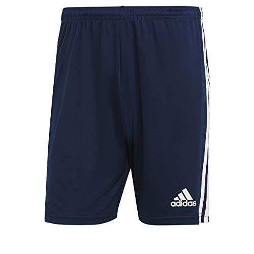 adidas Herren Squadra 21 Fu ball Shorts , Team: Marineblau Weiß., XL EU