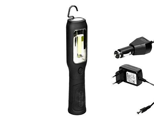 Led-accu, motorvoertuigen, werklamp, werklamp, staaflamp, magneet, handlamp, werkplaats