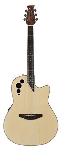 Ovation Applause E-Akustikgitarre AE44II-4 mid Cutaway natural