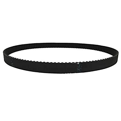 Geeyu ZHaonan-timing belt HTD 3M Timing Belt, Length From 285mm To 315mm, Width 10mm, Rubber HTD3M Synchronous 285-3M 315-3M Closed-loop Replacement parts (Length : 3M-Length 285, Width : Width 10mm)