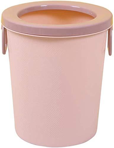 Basura puede basura un dormitorio de personalidad cocina sala de estar basura creativa casa de almacenamiento,Pink