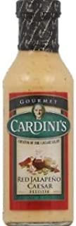 Cardini Caesar Dressing, Red Jalapeno, 12 Ounce (Pack of 12)