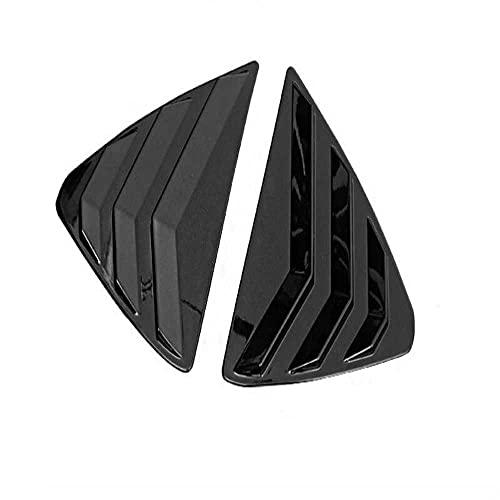 SAXTZDS Bil ABS kolfibermönster Bakre triangelfönsterluckor täcklister, för Mazda CX5 2017 2018 2019