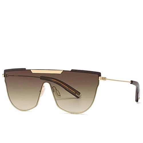 AMFG Gafas de sol personalizadas sin montura para hombres y mujeres de sol para mujer, espejo de conducción de viajes al aire libre (Color : B)