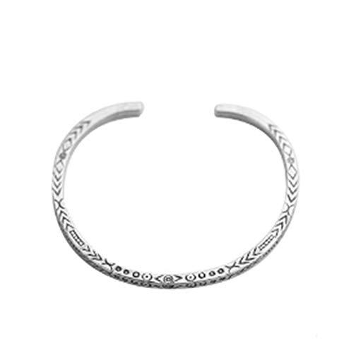 Aimsie - Pulsera para hombre de plata 925 con símbolo especial