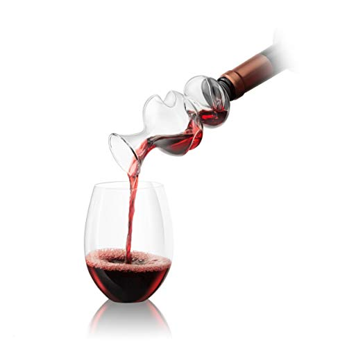 Final Touch On The Bottle Conundrum Wine Aerator Pourer Aeration Spout