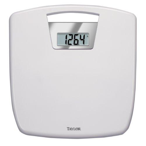 Taylor Digital Bathroom Scale with Antimicrobial Platform