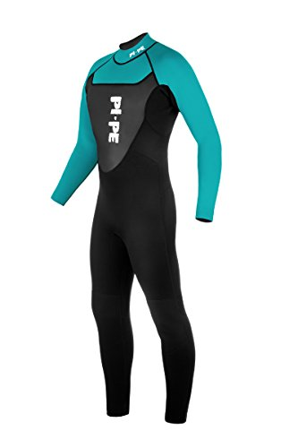 PI-PE Herren Neoprenanzug Active Full Long Sleeve, Cyan, M