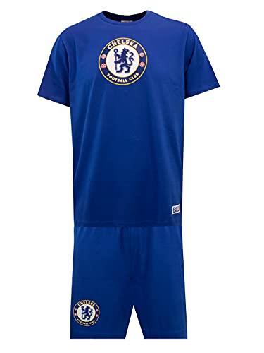 Chelsea FC Pigiama per Uomo Blu Medium