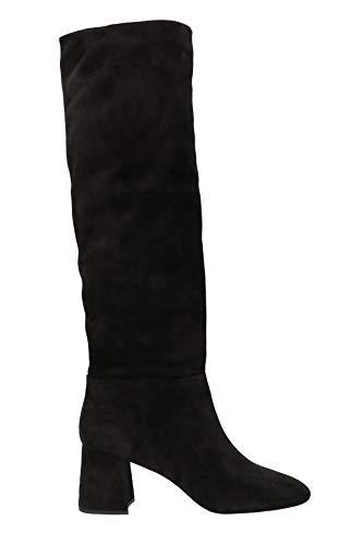 Miu Miu Luxury Fashion Damen 5W771CF065XW3F0002 Schwarz Wildleder Stiefel   Herbst Winter 19