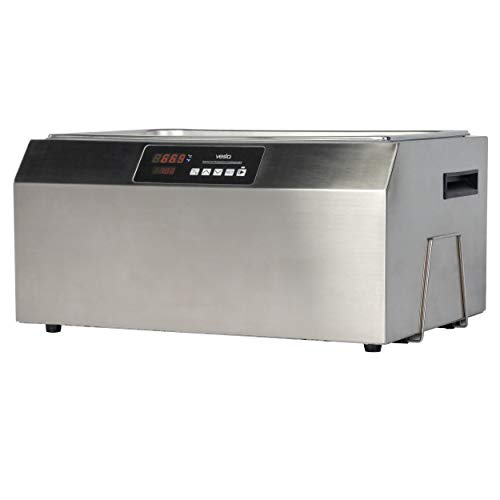 Sous Vide Water Oven by Vesta Precision - Perfecta Pro | Powerful Pump Design | Accurate, Stable Temperature Control | Touch Panel | Water Level Protection System | 28 Liters | 1800 Watts
