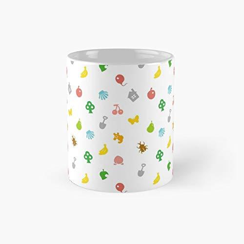 Animal Crossing Amiibo Card - Pattern Classic Mug Best Gift Funny Coffee Mugs 11 Oz