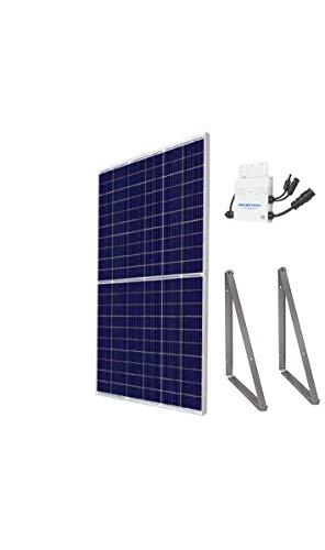 Mini-Solaranlage 300Wp (Mini-Solaranlage 300WP + Gestell + ohne Kabel)