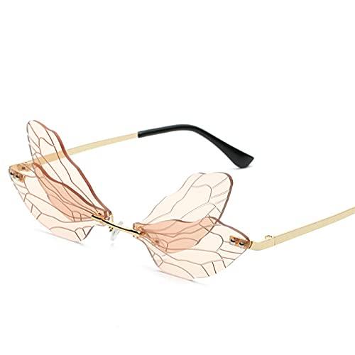 Aiong Gafas de Sol, Gafas de Sol sin Montura Moda MujeresGafas