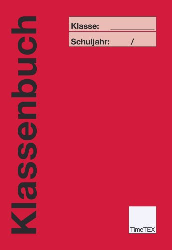 TimeTEX Klassenbuch A4 Plus - Rot - 10732
