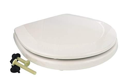 Jabsco 29097-1000 Ersatz-WC-Sitz und Deckel, kompakte Größe