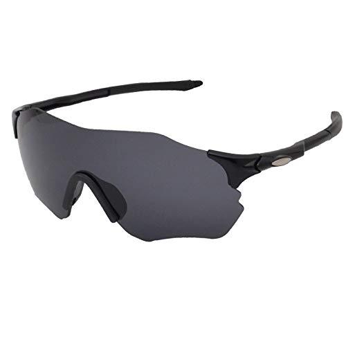 Gafas De Sol Polarizadas para Hombres Gafas De Sol Deportivas Antideslumbrantes Sin Montura Lente Gris Gafas De Sol Gafas De Ciclismo para Exteriores Gafas Deportivas De Conducción Gafas De