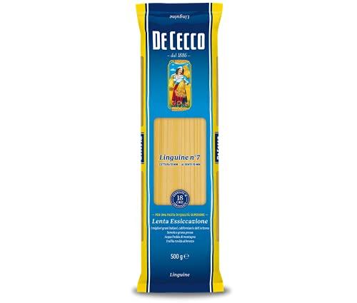 De Cecco Linguine - 6 pezzi da 500 g [3 kg]