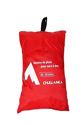 CHULLANKA Housse DE Pluie Sac A Dos 30-50 litres Sac à Dos de randonnée Equipement randonnée Rando/Camping