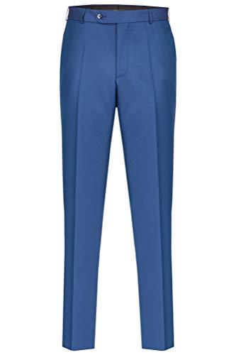 Wilvorst - Festlicher Anzug Baukasten Hose (481101/32 Modell 224), Größe:48, Farbe:Blau (32)