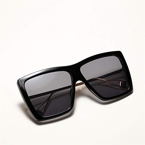 DAIDAICDK Gafas de Sol de Gran tamaño con gradiente de Montura Grande para Mujer Gafas de Sol cuadradas para Mujer Accesorios para Coche al Aire Libre