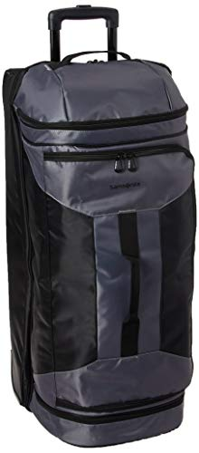 Samsonite Andante 2 Drop Bottom Wheeled Rolling Duffel Bag, Riverrock/Black, 32-Inch