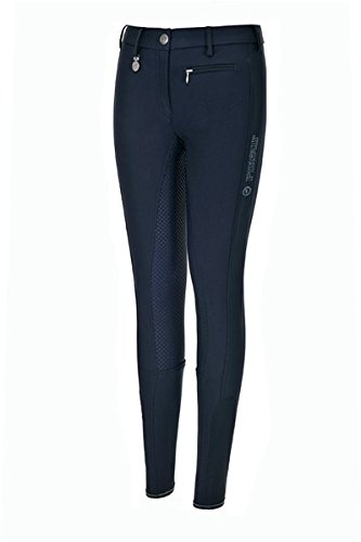 Pikeur Reithose Lucinda Girl Slim Grip, 158 | darkshadow