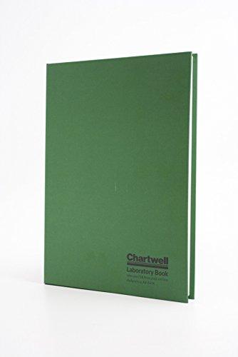 Chartwell - Cuaderno de laboratorio (tapa dura, tamaño A4), tapa verde