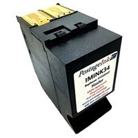 PostageInk.com Brand Postage Meter Ink Cartridge for use with IM330, IM350, IM420, IM440, IM460, IM480 and IM490 Postage Meters; Non-OEM Replacement for Product # IMINK34 / Sure.Jet 4135554T