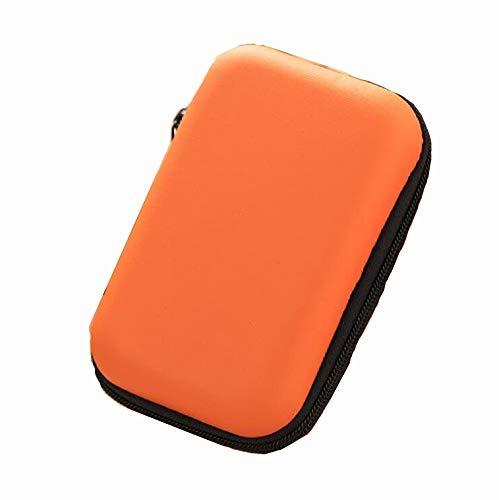 MXH Leuke draagbare data kabel opslag tas mobiele telefoon lijn headset storage box afwerking pakket verandering rits tas