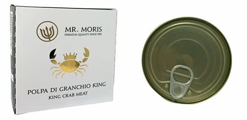 Polpa di Granchio Mr. Moris al Naturale (Granchio King 150Gr)